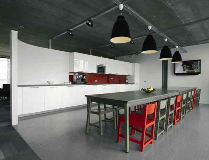Industrial Office Kitchen