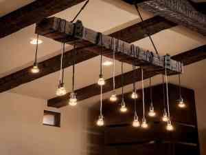Sophisticated DIY Kitchen Lighting