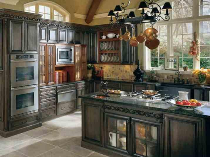 Elegant French Country Kitchen