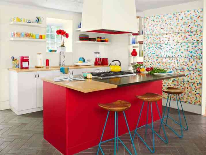 Legit Colorful Kitchen