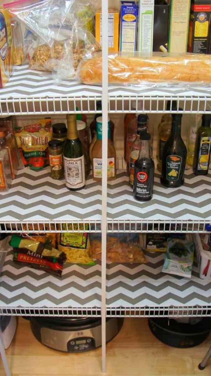 Simple Kitchen Shelf Liner