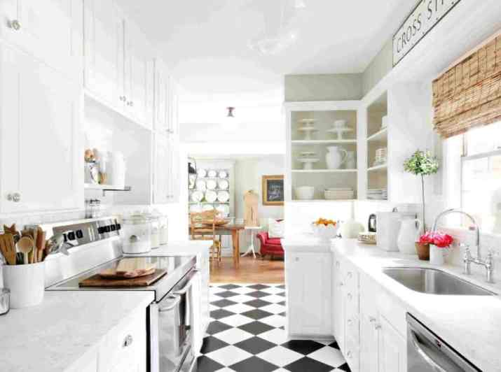 Trick Your Eyes with Anything White in your kitchen