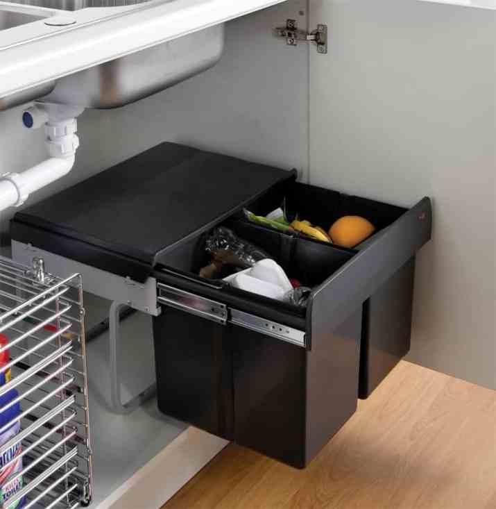 Under Sink Kitchen Trash Can