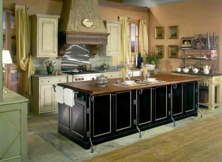 Unique French Country Kitchen