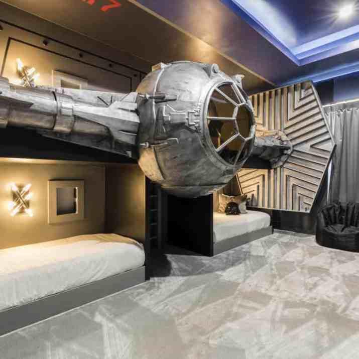 Star Wars Twin Bedroom