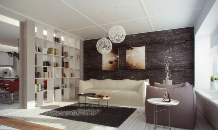 Bookshelf as Room Divider