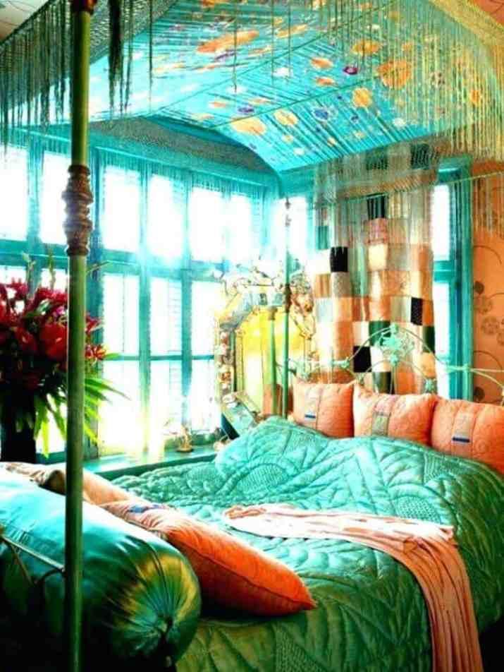 Bright Hippie Bedroom