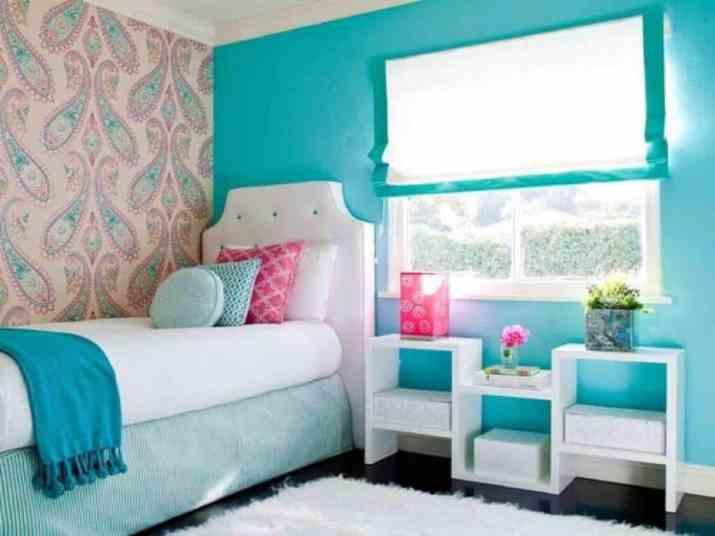Vibrant Girls Bedroom