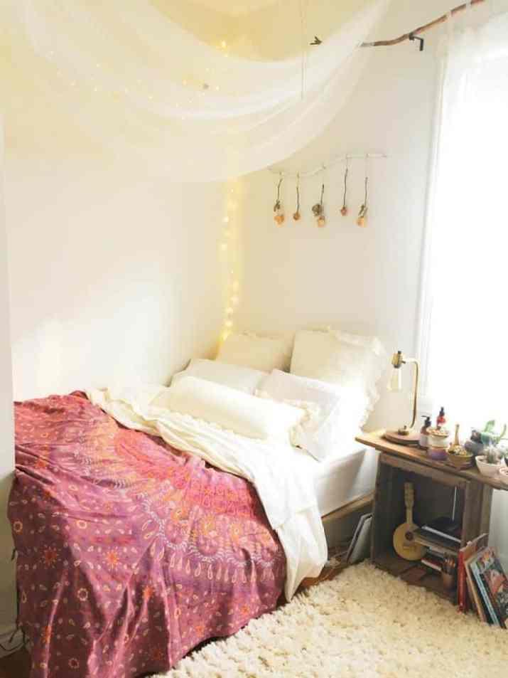 Hippie Relaxing Bedroom