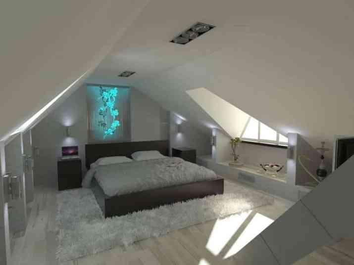 Classy Attic Bedroom