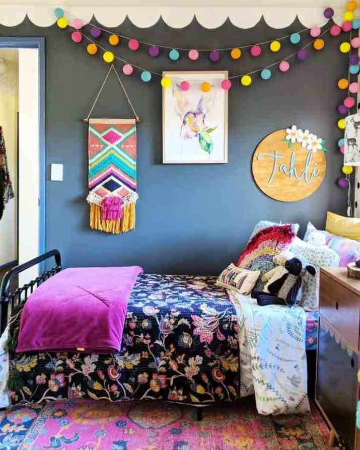 Impressive Colorful Bedroom