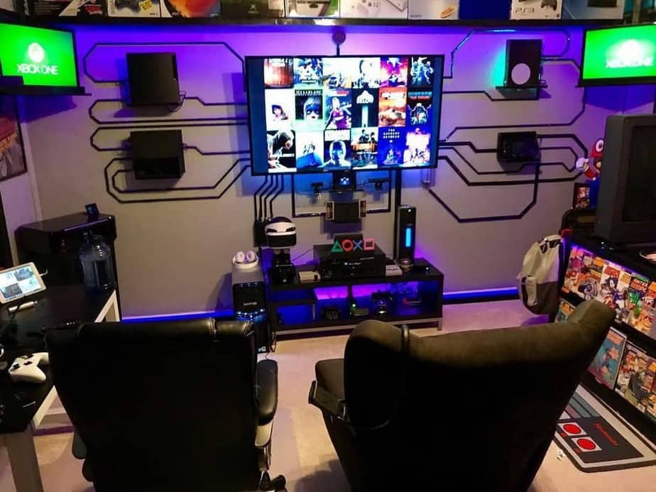 Cool Gaming Room