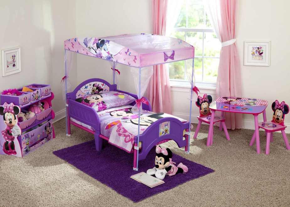 Minnie Mouse Princess Bedroom