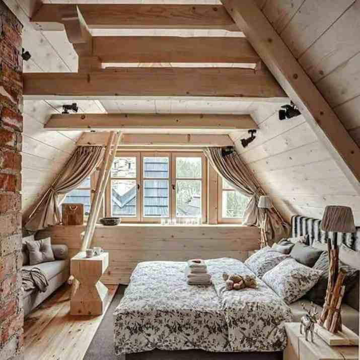 Natural Country Bedroom