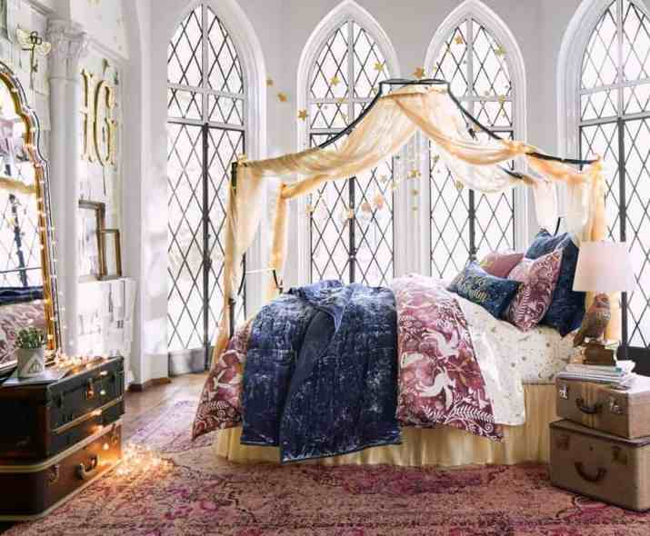Colorful Harry Potter Bedroom