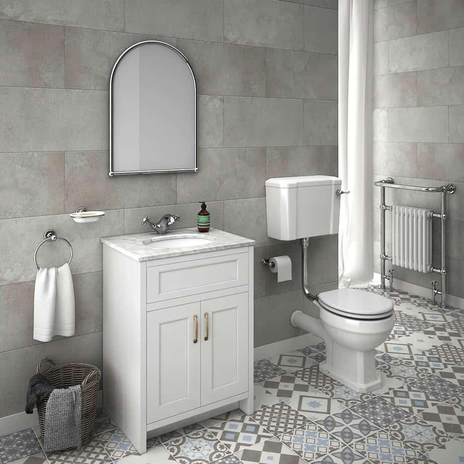 Creative Bathroom Heating