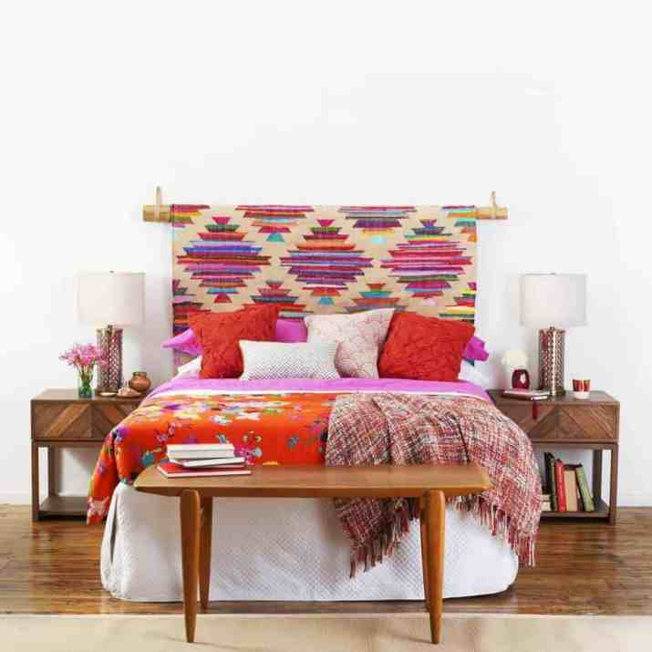 Bold Colorful Bedroom