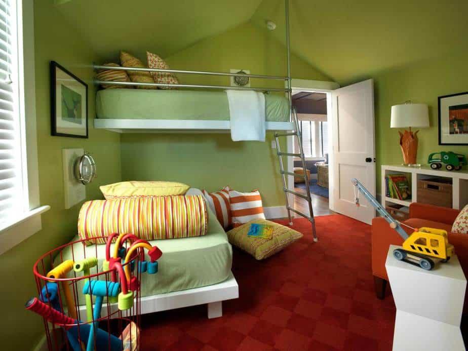 Creative Twin Bedroom