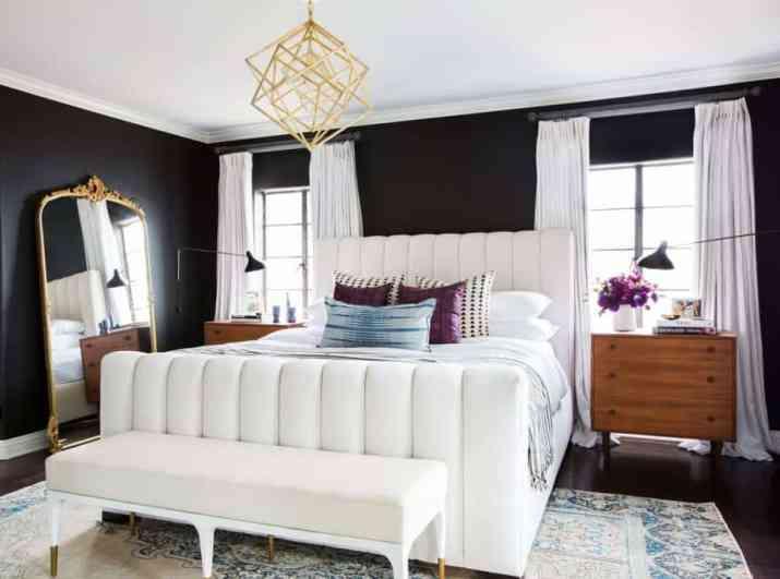 Fashionable Master Bedroom