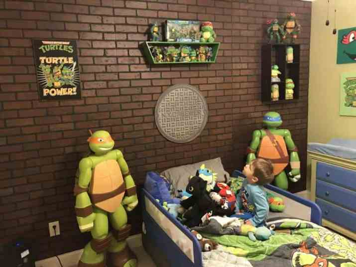 Fun Ninja Turtles Bedroom