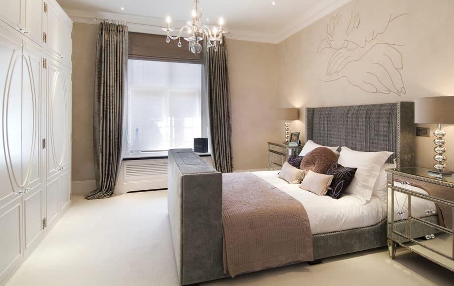 Impressive Beige Bedroom