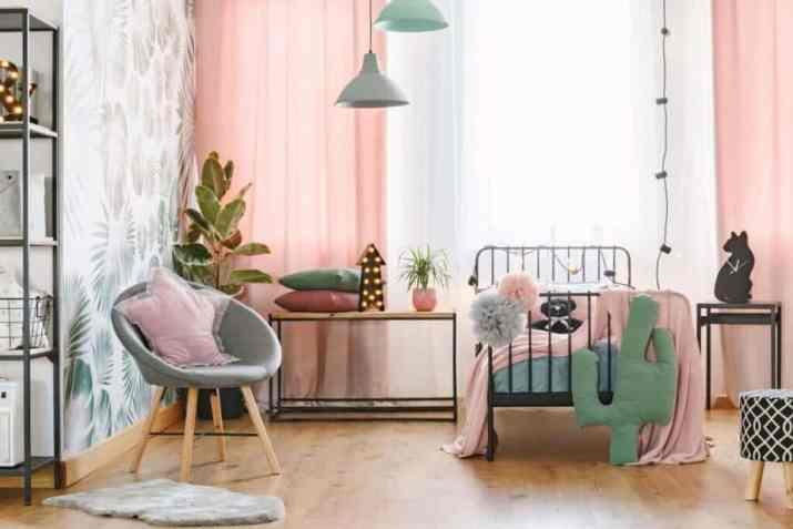 Attractive Colorful Bedroom