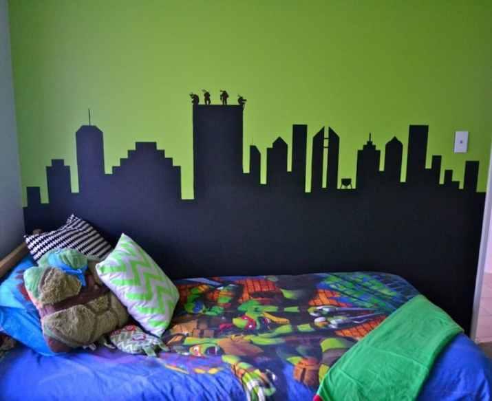 Peaceful Ninja Turtles Bedroom