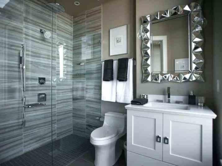 Quiet Grey Bathroom