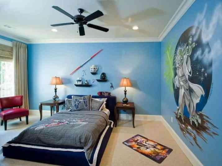 Roomy Star Wars Bedroom