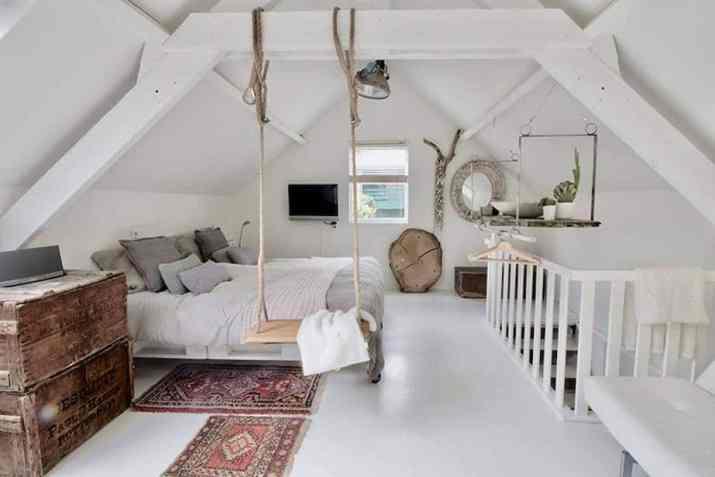 Terrific Attic Bedroom