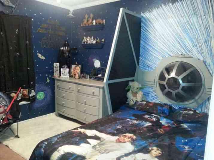 Terrific Star Wars Bedroom
