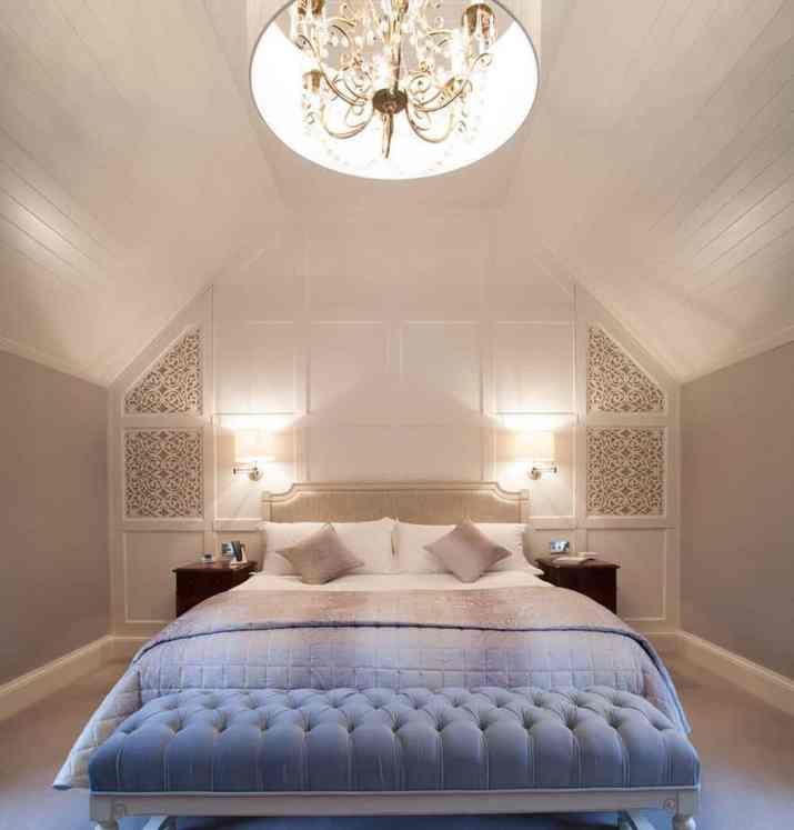 Artsy Bedroom Accent Wall