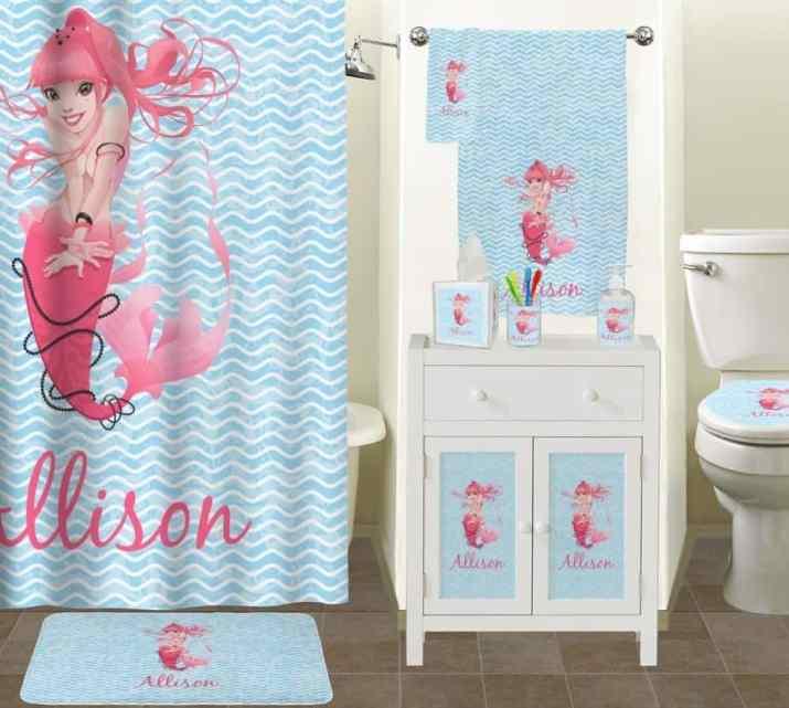 Beautiful Mermaid Bathroom