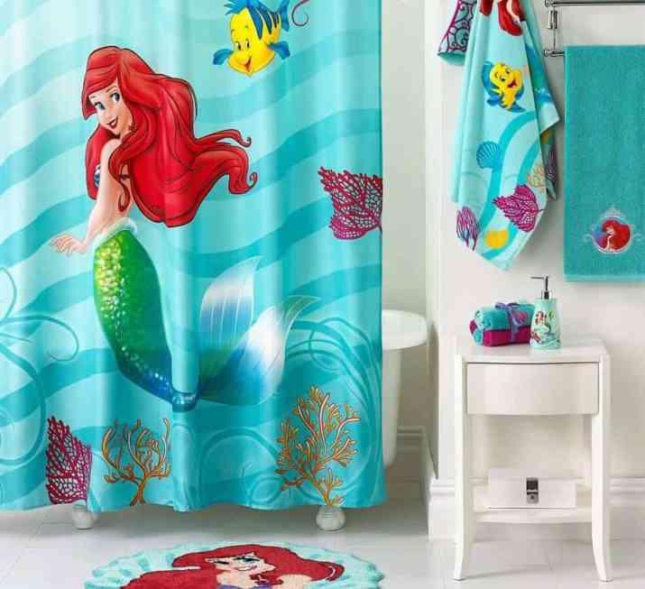 Bright Mermaid Bathroom