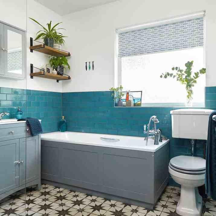 10 Teal Bathroom Ideas 2021 Attractive, White And Teal Bathroom