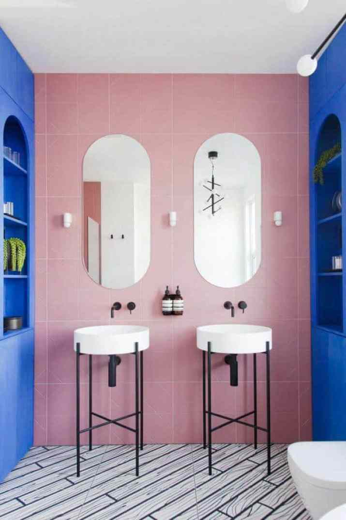 Impressive Colorful Bathroom
