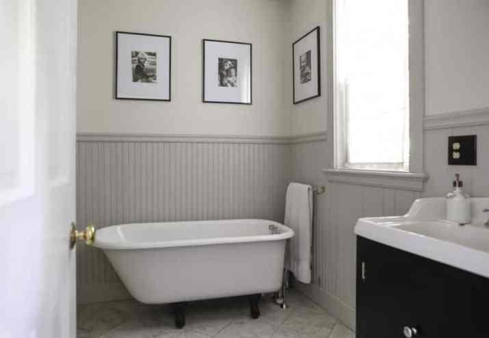 Nice Beadboard Bathroom