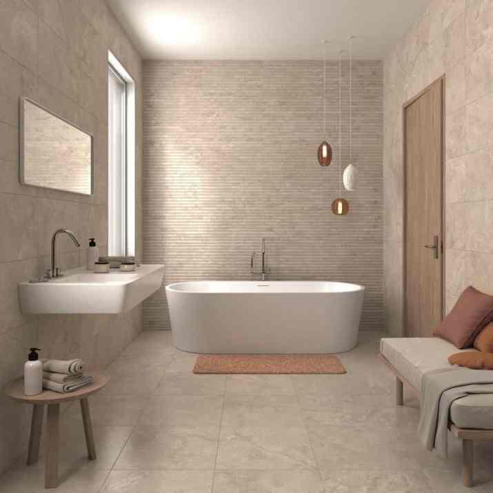 Relaxed Zen Bathroom