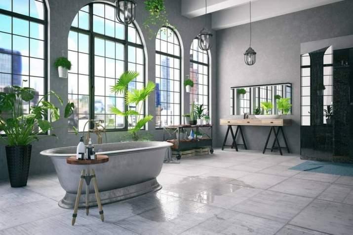 Ultra-Fresh Grey Bathroom