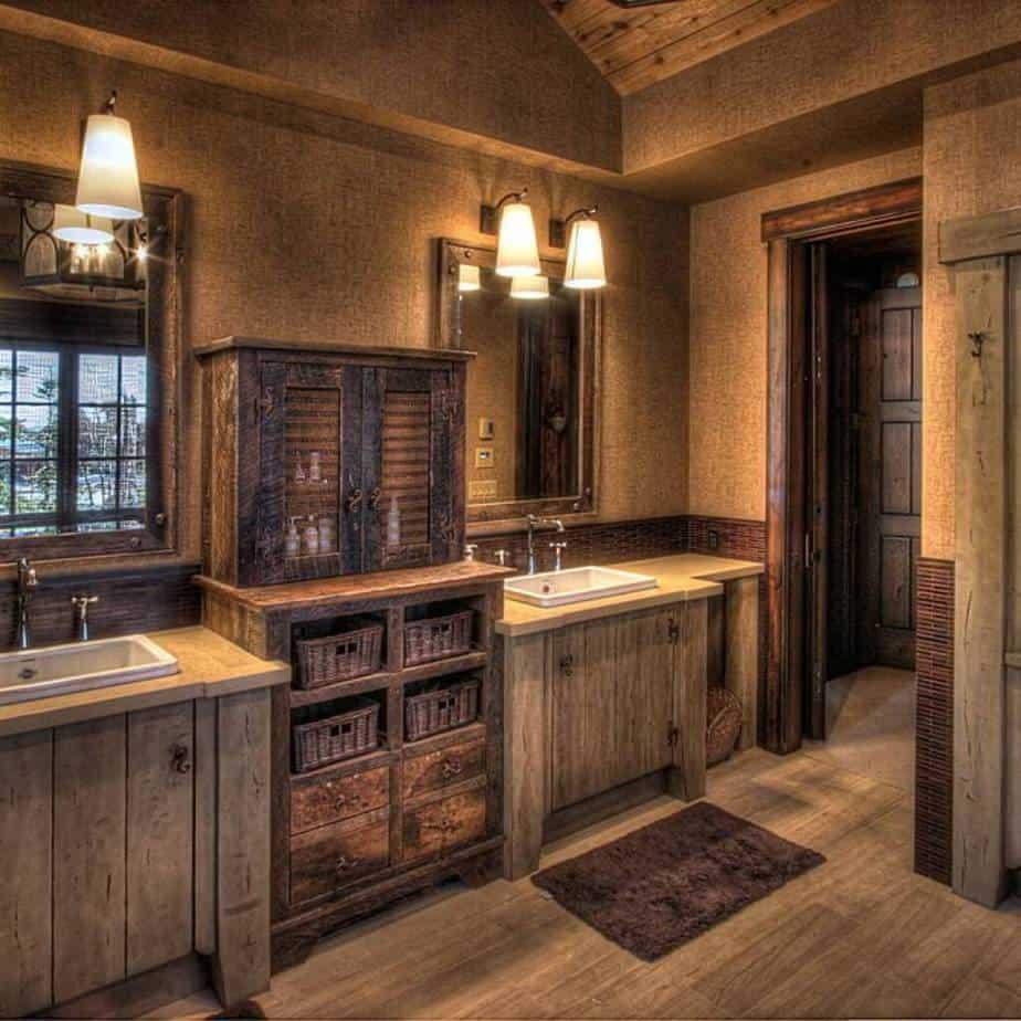 Old Craftsman Bathroom