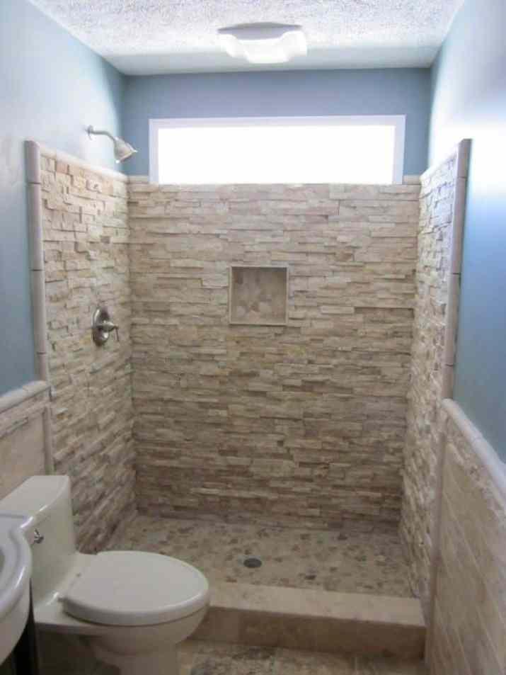 Half Stone Walling