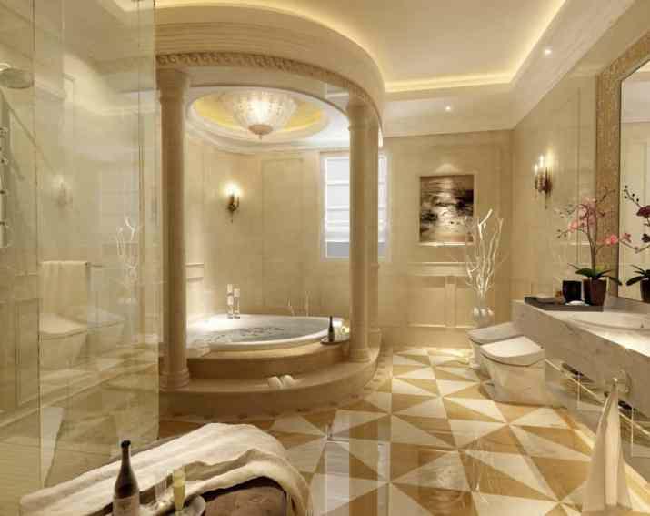 Lavish Zen Bathroom
