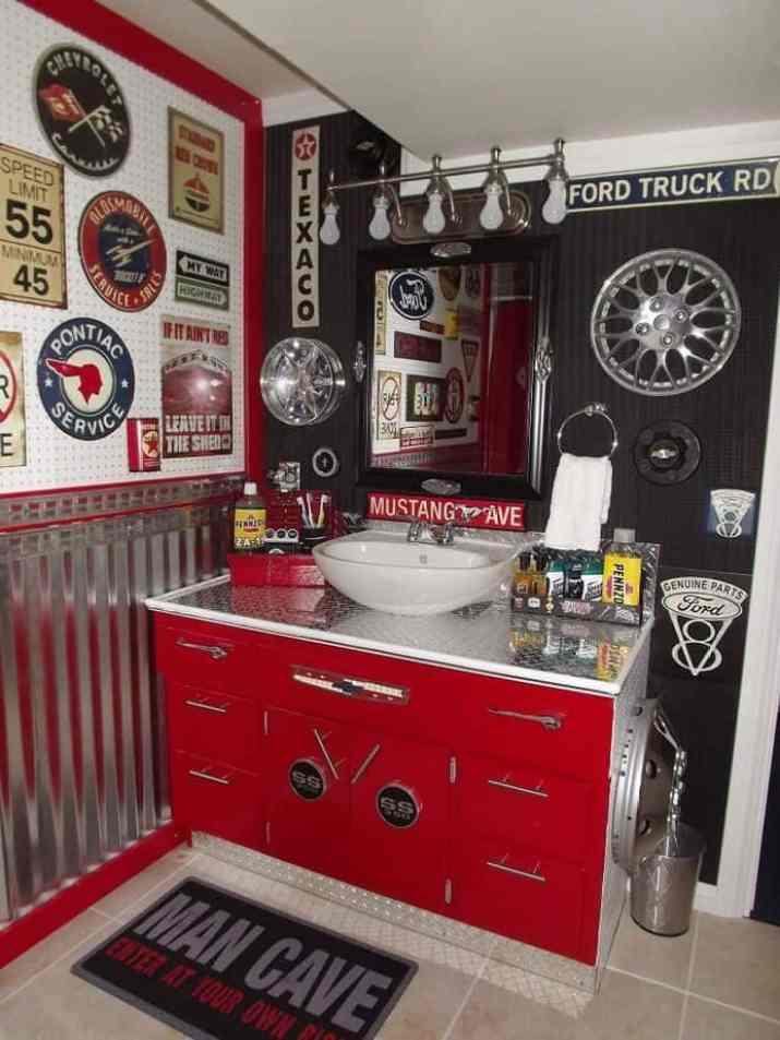 Garage Bathroom Idea