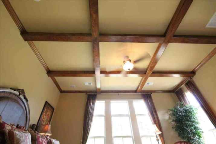 modern Vaulted Ceiling Ideas with Beams