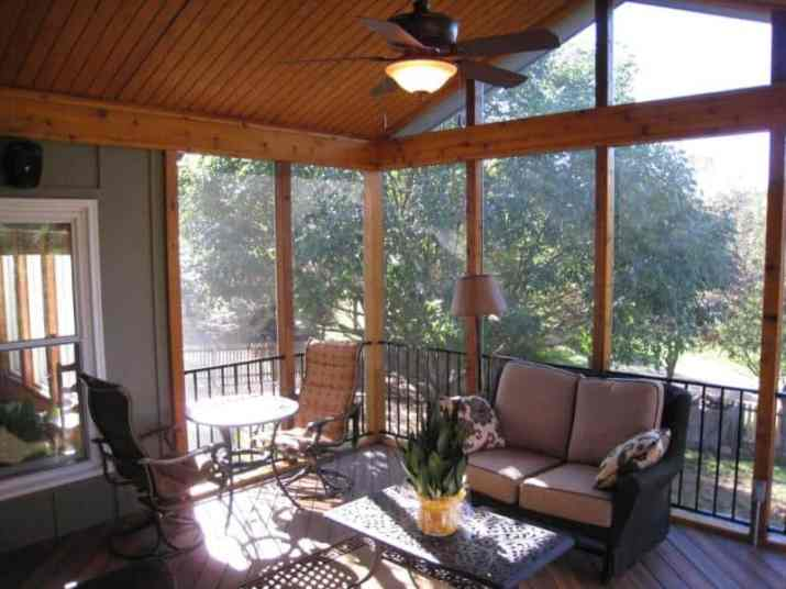 cozy Wood Ceiling Ideas for Porch