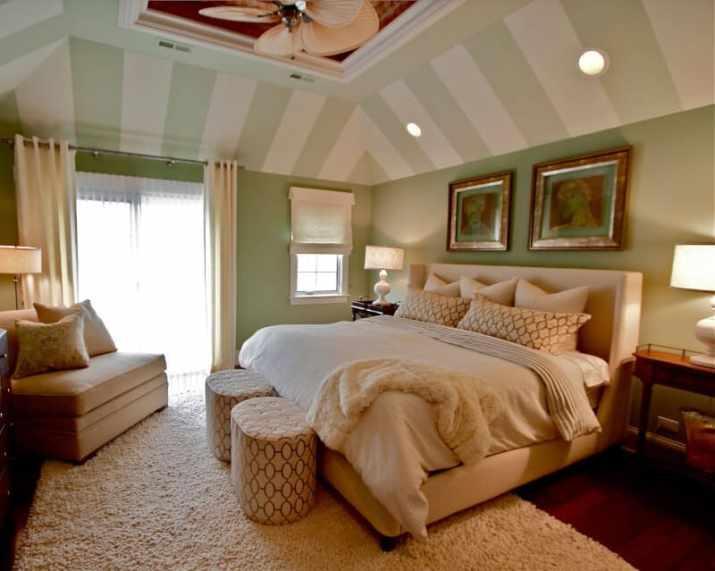 original Vaulted Ceiling Bedroom Ideas