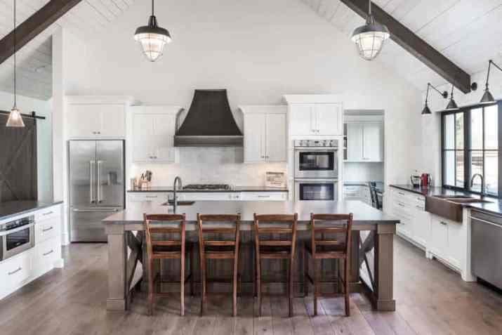 simply Farmhouse Vaulted Ceiling Ideas