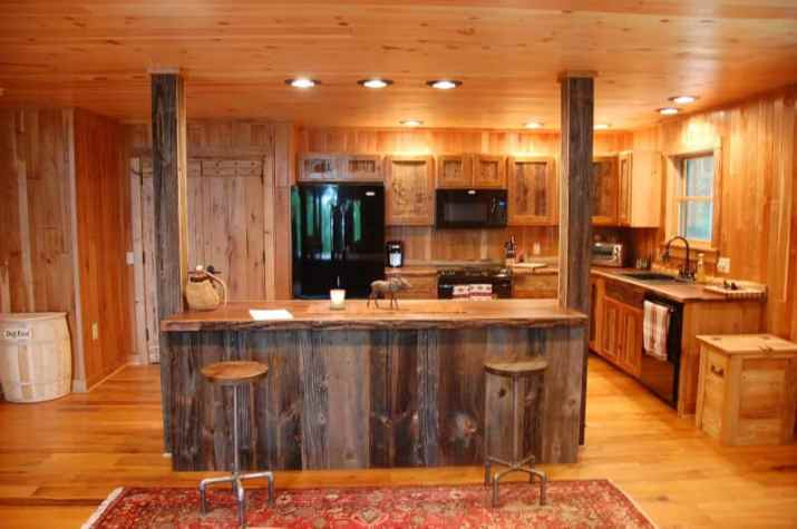 Rustic Wood Ceiling Paint Ideas with good furnish