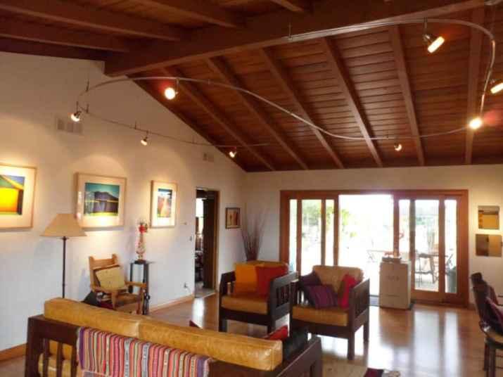 good Vaulted Ceiling Lighting Ideas Design