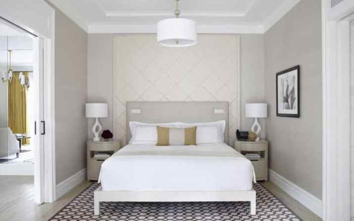 White Wood Ceiling Ideas  with grey wall